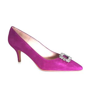 Windsor pink/purple court shoes