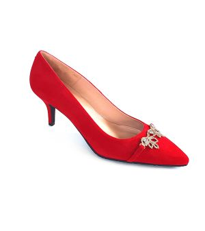 Arella red Courts shoes