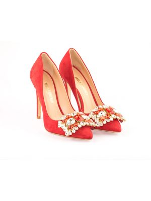 embellished Paola red courts